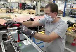 Batterie-Aufbereitung bei Opel in Rüsselsheim