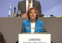 Regierungserklärung im Mainzer Landtag: Dreyer stellt Pläne der Ampel-Regierung vor