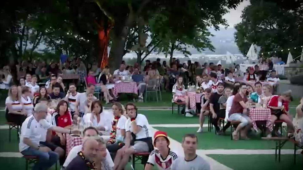 Deutschland gegen Frankreich: Public Viewing in Mainz