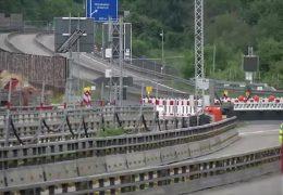 Sperrung der Salzbachtalbrücke