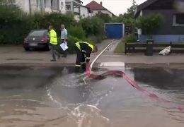 Überflutete Keller und unterspülte Straßen: Unwetter in Bad Dürkheim