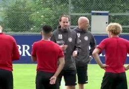Trainingsstart beim SV Wehen Wiesbaden