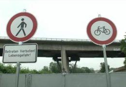 Salzbachtalbrücke wird gesprengt