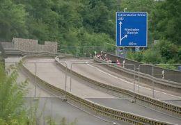 Gesperrte Salzbachtalbrücke – neue Wege nach Wiesbaden sollen Verkehr entlasten