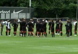 Eintracht Frankfurt – Trainingsauftakt unter neuer Leitung
