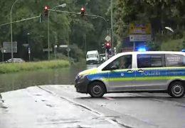 Unwetter ziehen über Hessen und Rheinland-Pfalz