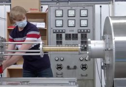 Riesenmagnet für Antimaterie