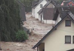 Katastrophales Unwetter verwüstet Eifelgemeinde Schuld