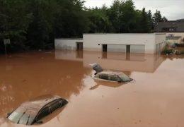 Der Tag nach der Hochwasserkatastrophe in Kordel, Cochem und Trier