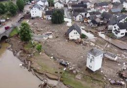Der Tag nach der Hochwasserkatastrophe im Kreis Ahrweiler