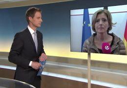 Videoschalte mit der rheinland-pfälzischen Ministerpräsidentin Malu Dreyer