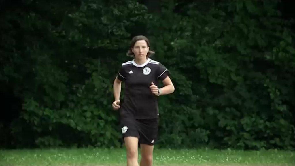 Von Baunatal nach Tokio - Schiedsrichterin Katrin Rafalski
