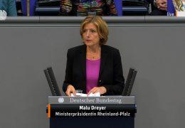 Dreyer äußert sich zu Hochwasserkatastrophe