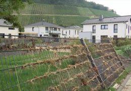 Hochwasser zerstört Neubaugebiet in Heppingen