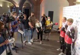 Empfang für Olympioniken im Frankfurter Römer