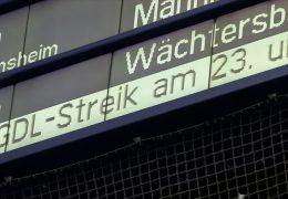 Gewerkschaft der Lokführer kündigt weitere Streiks an