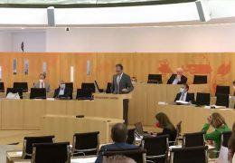 Boddenberg bringt Haushalt in Landtag ein