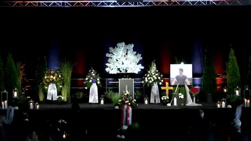 Trauerfeier für Alex W.
