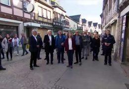 Bundespräsident Steinmeier besucht das Ahrtal