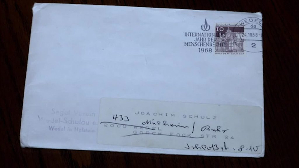 Brief nach über 50 Jahren endlich zugestellt
