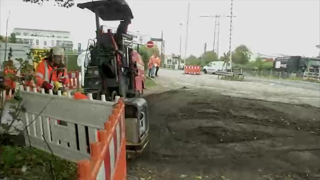 Gefährlicher Bahnübergang in Frankfurt-Nied wird automatisiert